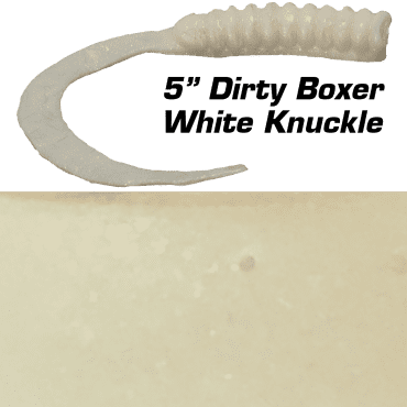 """5"""" Dirty Boxer  White Knuckle"""
