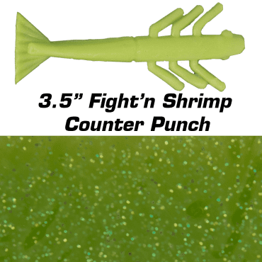 """3.5"""" Fight'n Shrimp Counter Punch"""