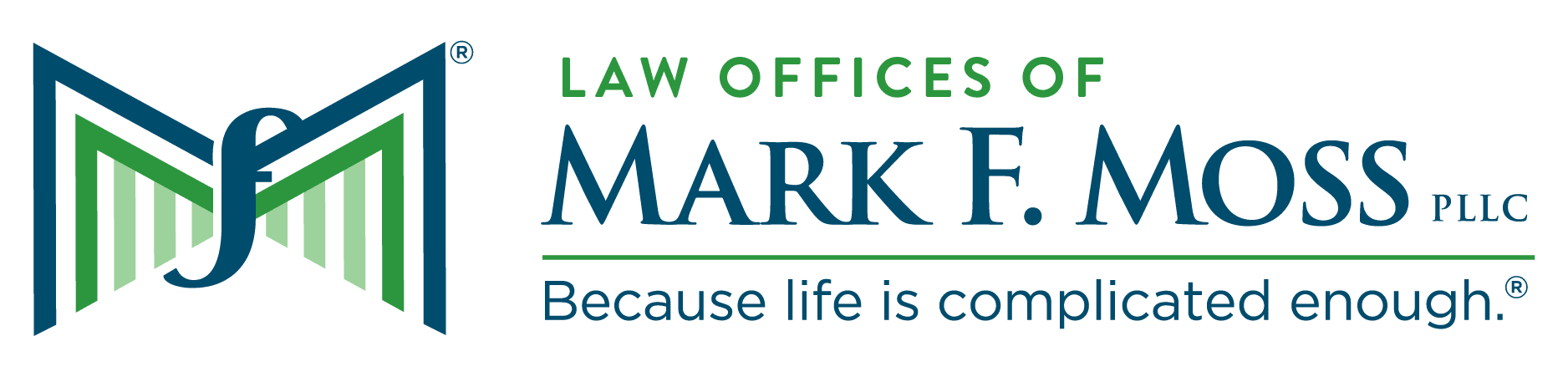 Law Offices of Mark Moss Logo