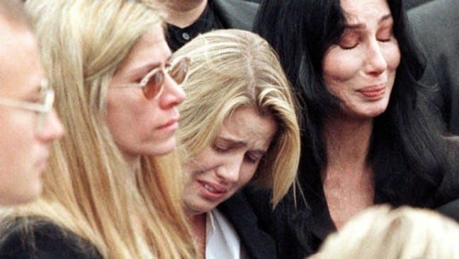 Cher crying